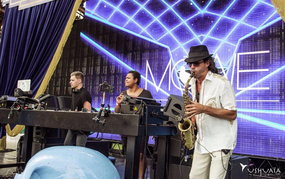 SAX -Ushuaia Ibiza 2015